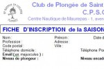 INSCRIPTION 2013-2014 !!