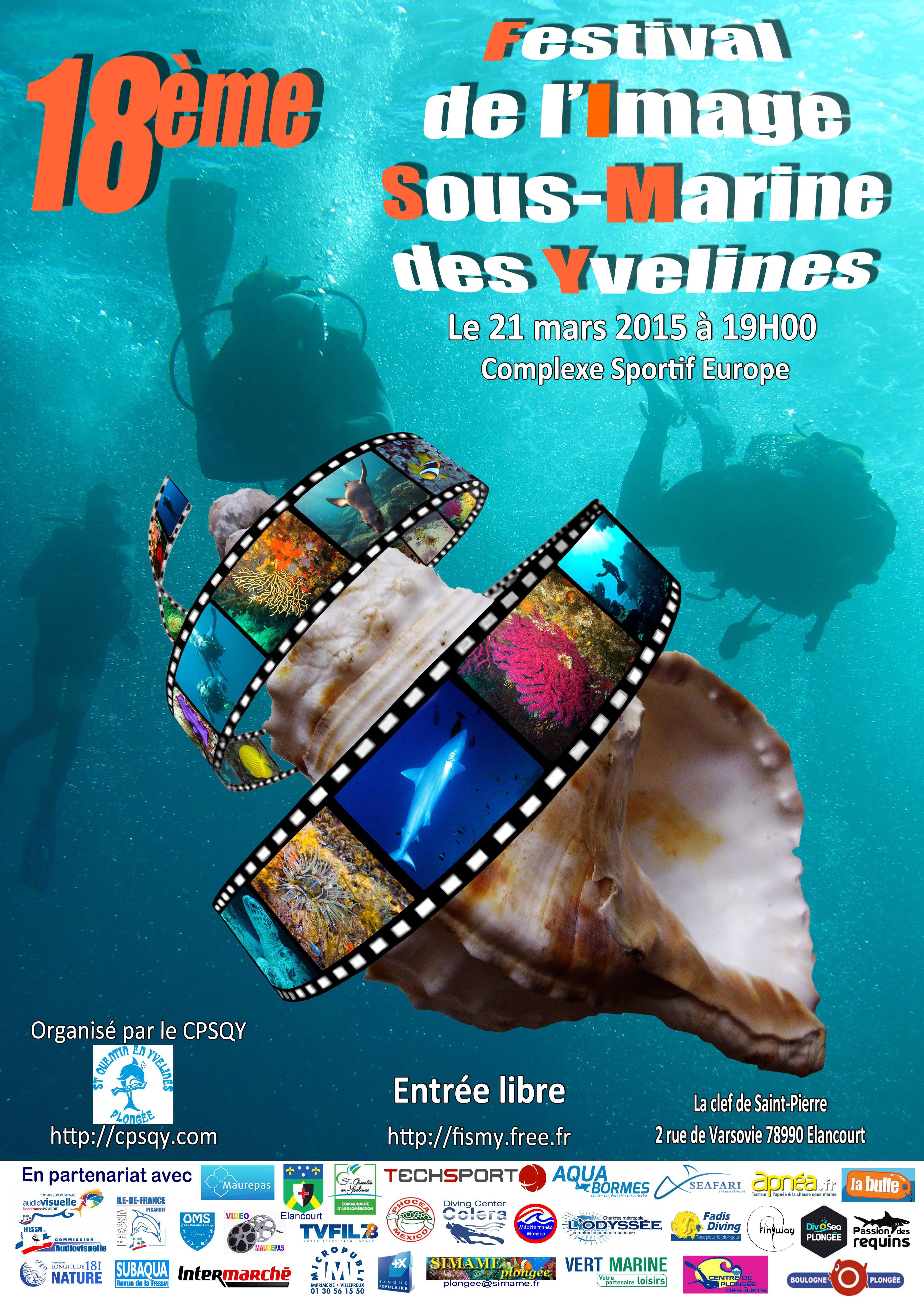 Festival de L'Image Sous Marine des Yvelines !